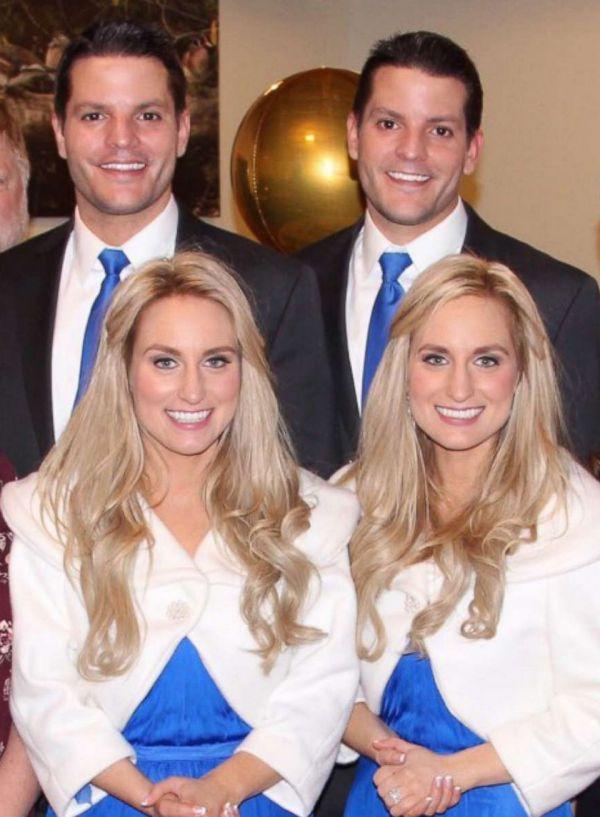 Identieke tweelingen sluiten uniek verbond met elkaar