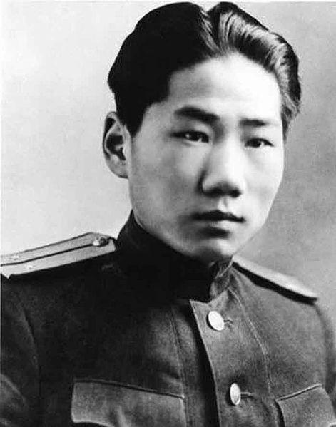 Сын Мао Цзедуна Сережа Мао, советский офицер