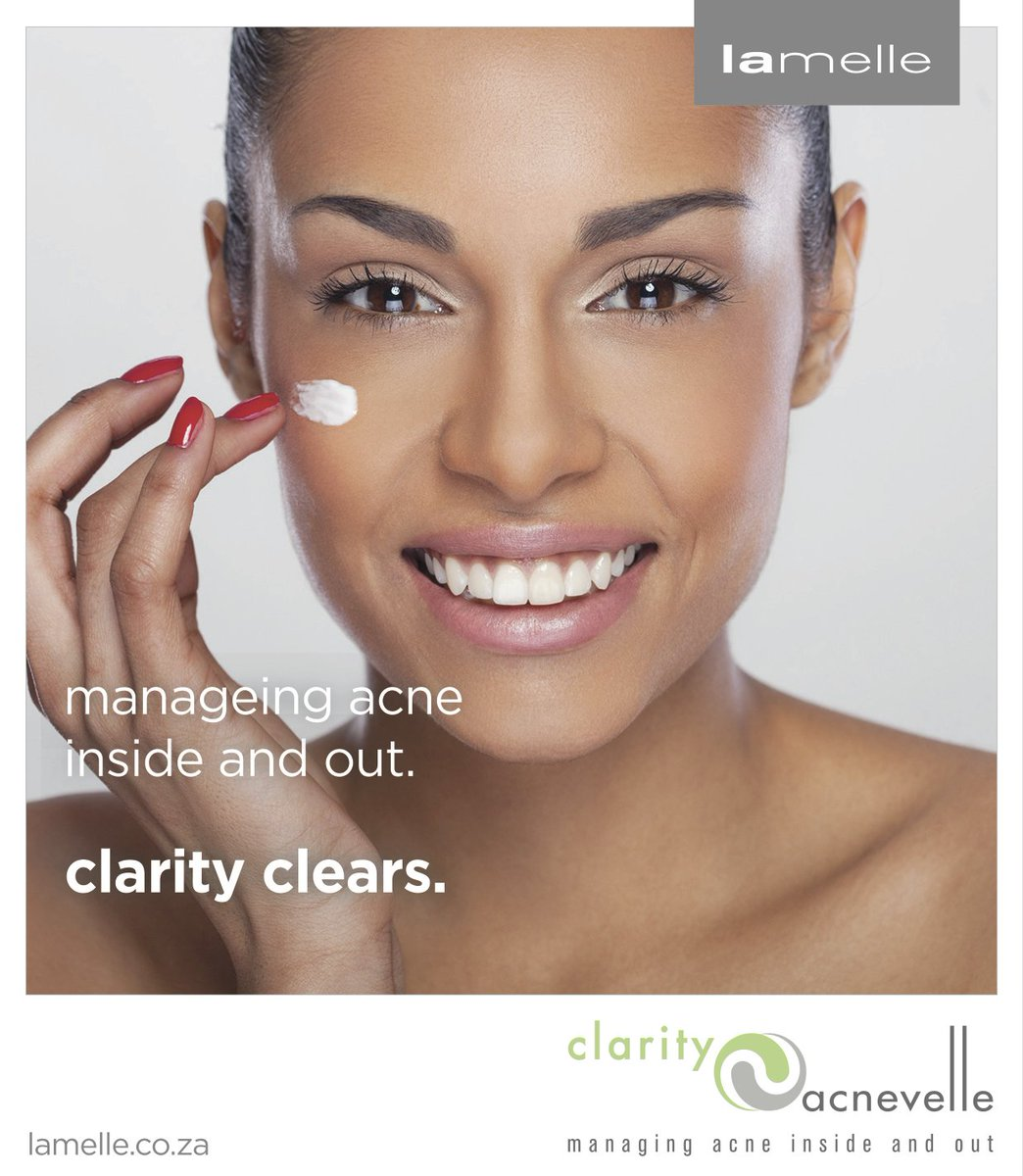 Manage your acne inside and out with Clarity. #ClarityClears