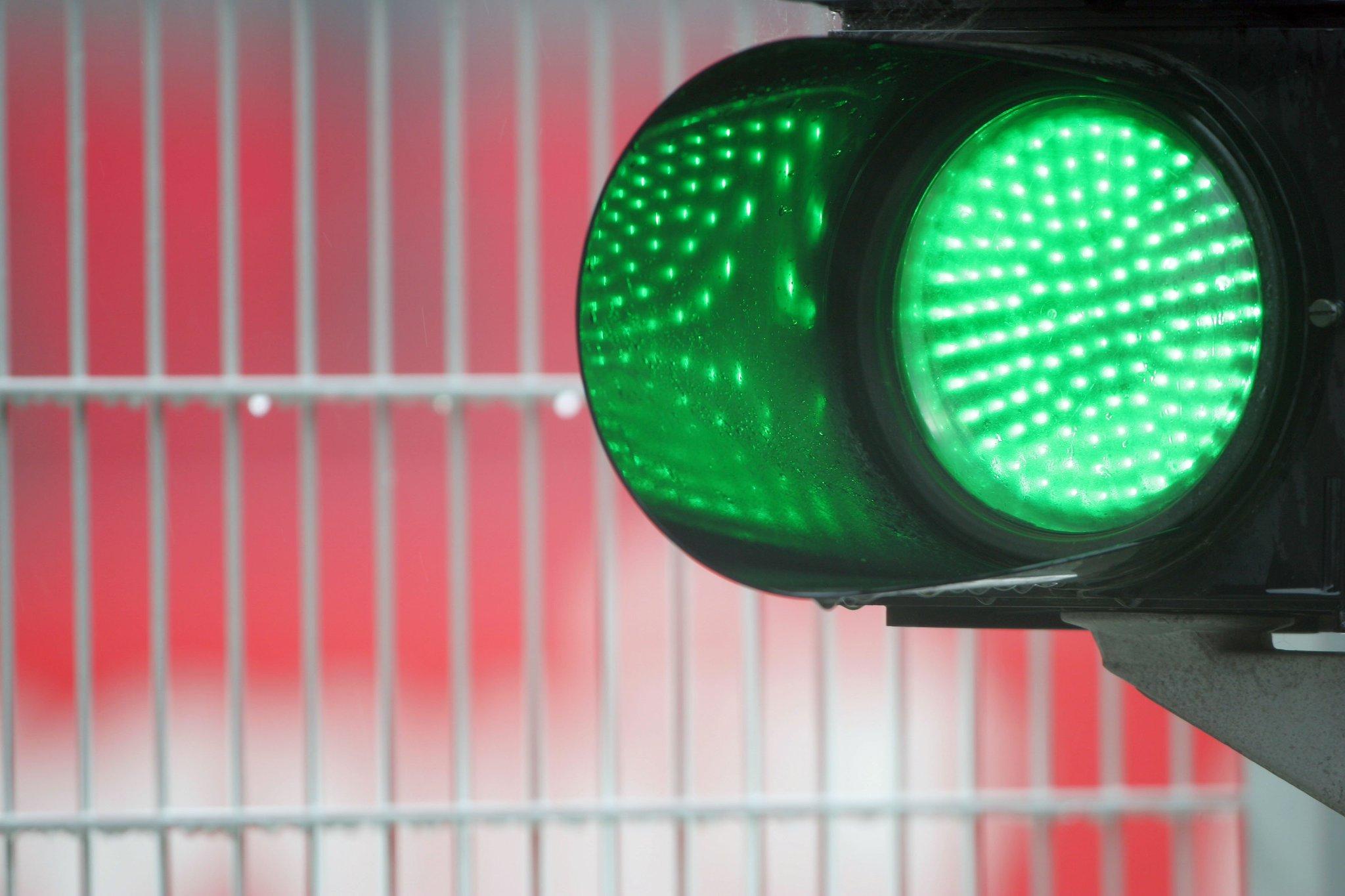 Semáforo verde