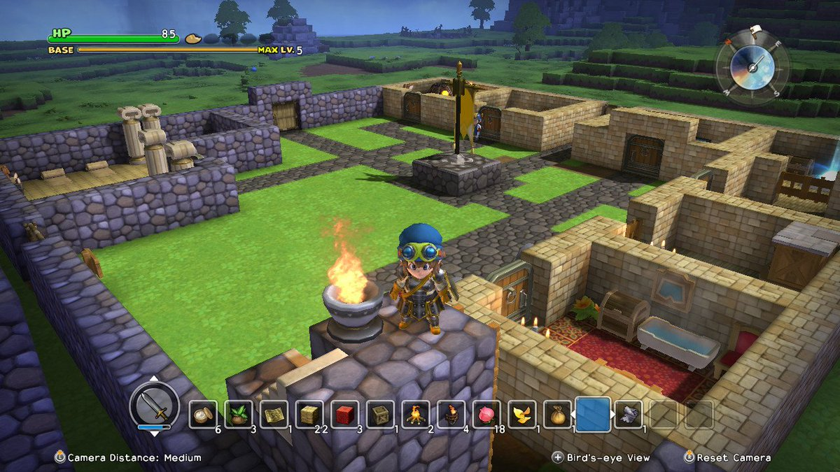 Dragon quest builders is on nintendo switch ot and we Dragon quest builders cantlin garden