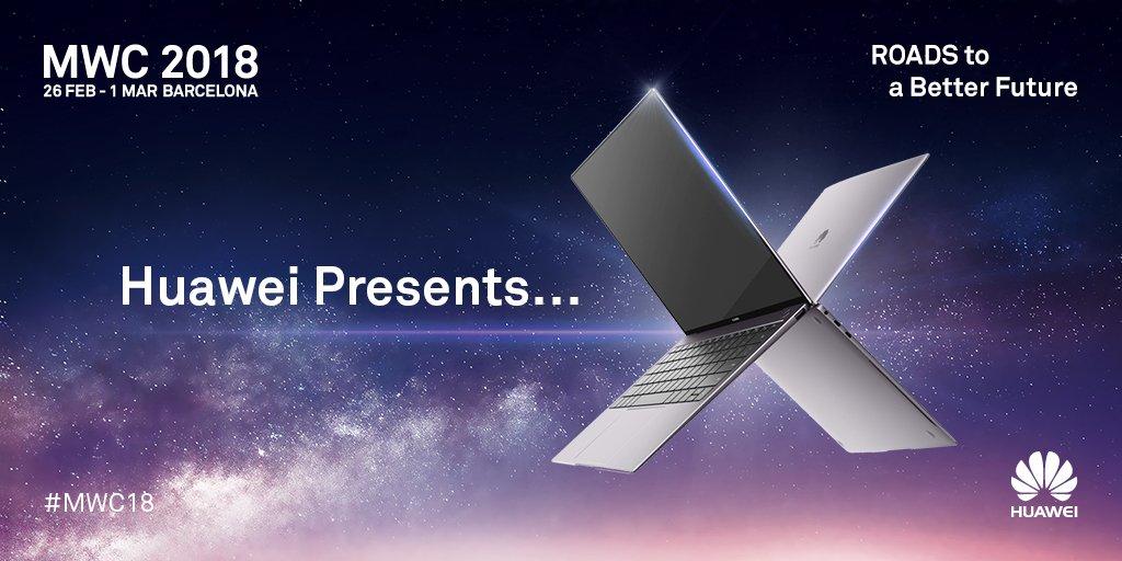 Huawei Launches MateBook X Pro, MediaPad M5 and Huawei 5G CPE