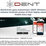 Image for the Tweet beginning: DENT Android App is Live!