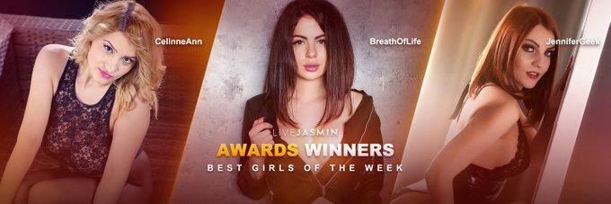 New week, new #BestGirlsOfTheWeek!! 🥇 BreathOfLife 🥈 @CelinneAnn 🥉 @JenniferGeek https://t.co/Prm9E7