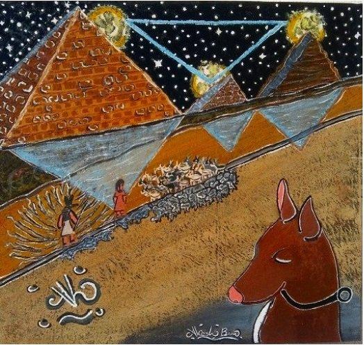 #3LuneDegitto #3EnulDegitto #3MoonOfEgypt #3NoomOfEgypt #arte #mostra  #Esposizione #Quadri #Pittura #Vendita #artist #gallery #antiquariato #art  #Studio #AlcoolBen #Cultura #Artista #sculpture #Spazigalleria #Nuovo https://t.co/0PgB2QfPO3