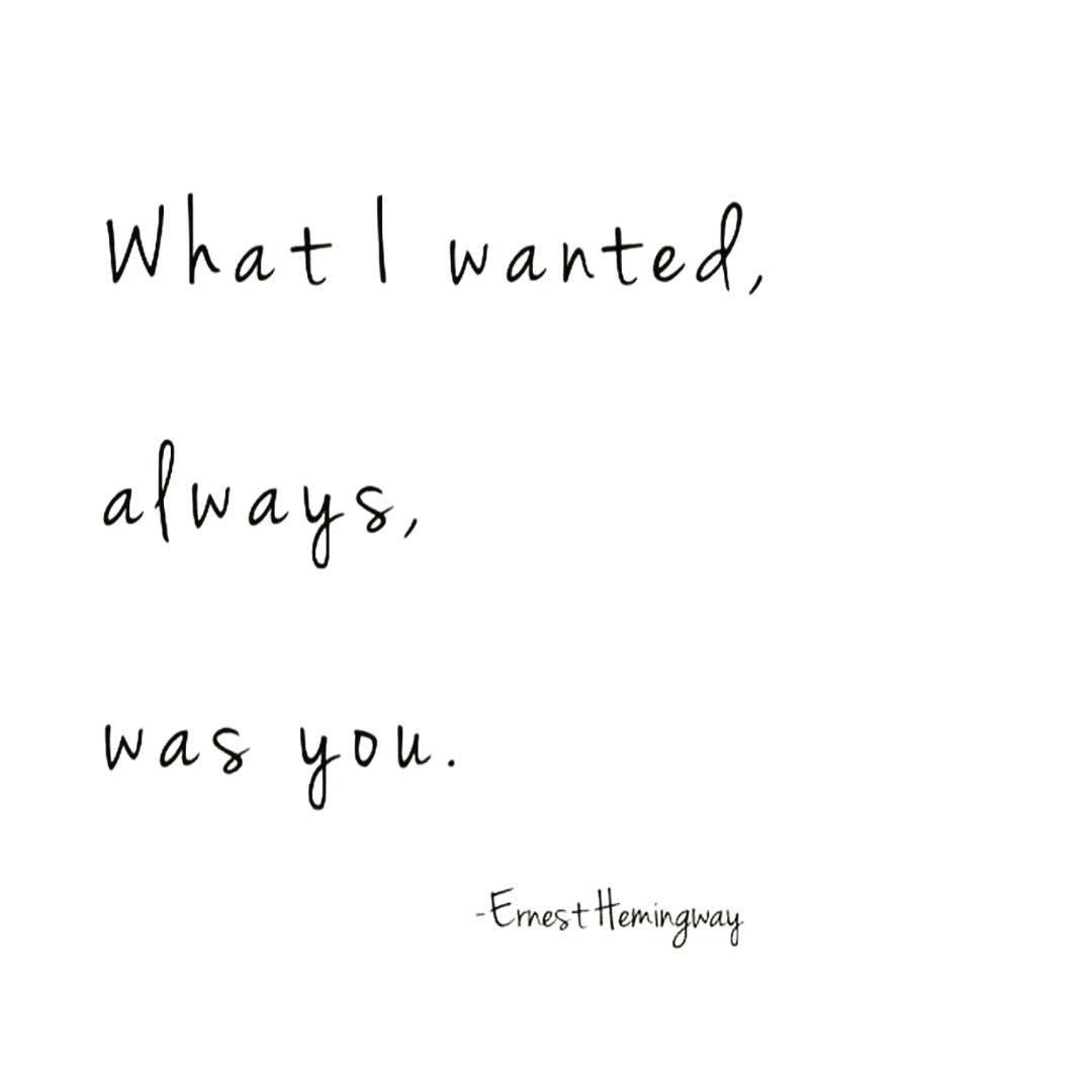 Always, all ways. 😻 Happy #ValentinesDay #ErnestHemingway