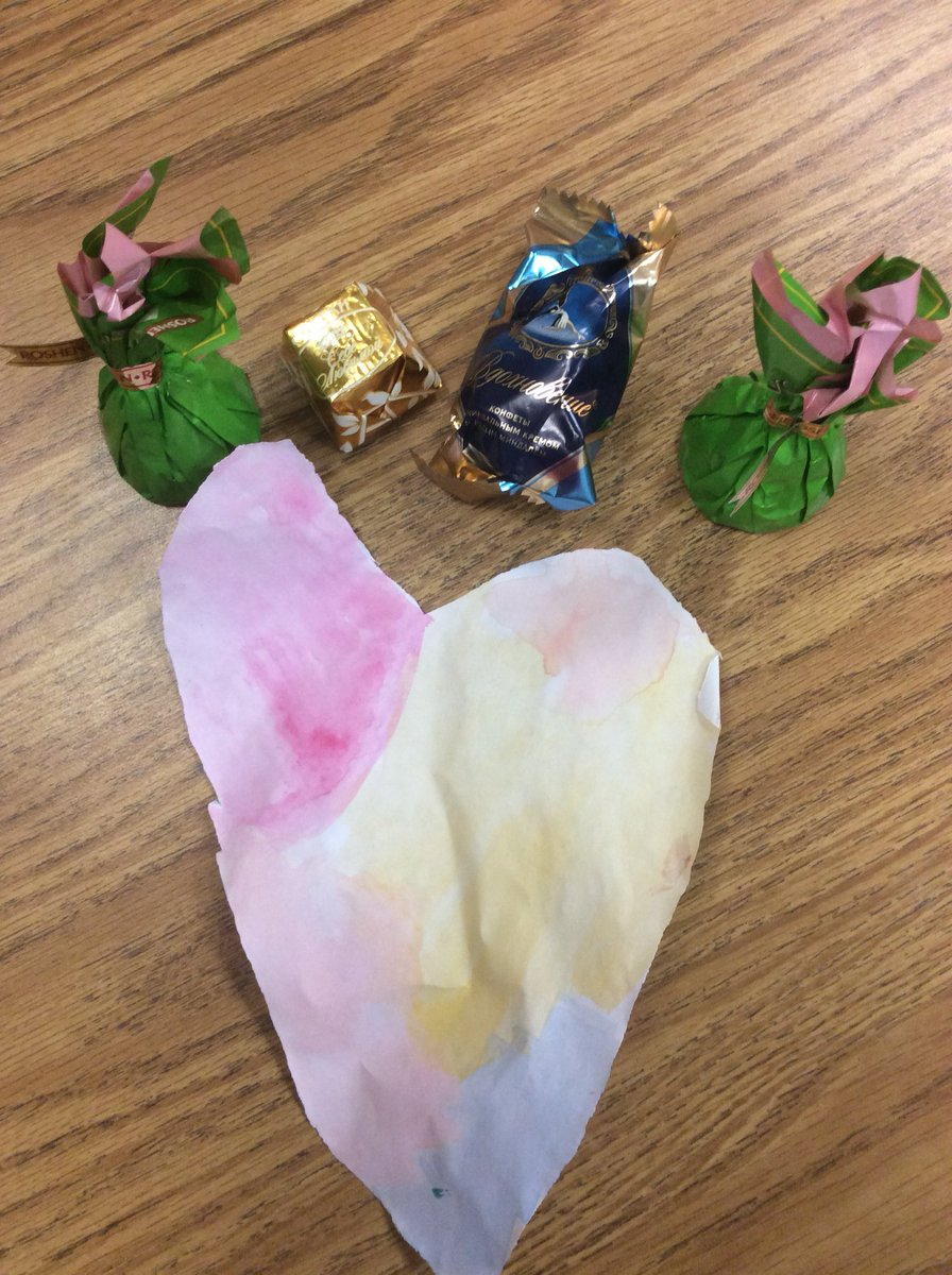 Homemade watercolor heart &amp; Ukrainian chocolate. A great valentine from a student! <a target='_blank' href='http://search.twitter.com/search?q=APSisAwesome'><a target='_blank' href='https://twitter.com/hashtag/APSisAwesome?src=hash'>#APSisAwesome</a></a> <a target='_blank' href='http://search.twitter.com/search?q=PHESBulldogs'><a target='_blank' href='https://twitter.com/hashtag/PHESBulldogs?src=hash'>#PHESBulldogs</a></a> <a target='_blank' href='https://t.co/d1MXM4Cs5g'>https://t.co/d1MXM4Cs5g</a>