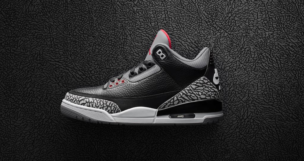 d026e399e9c The @Jumpman23 Air Jordan 3 Retro 'Black Cement' will be made available at  21M, Soho, & NTNY via SNKRS Pass. Keep an eye on the SNKRS App to reserve  your ...