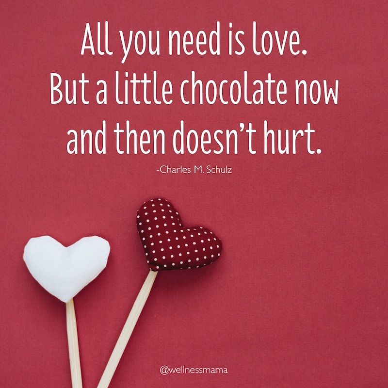 Happy Valentine's Day, wellness mamas (and papas)! ❤️❤️ #valentinesday #love #chocolate #celebrate #wellnessmama