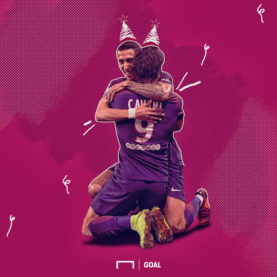 Happy Birthday to PSG duo Angel Di Maria and