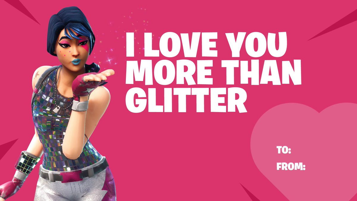 Fortnite On Twitter Happy Valentine S Day Tag Your Valentine And