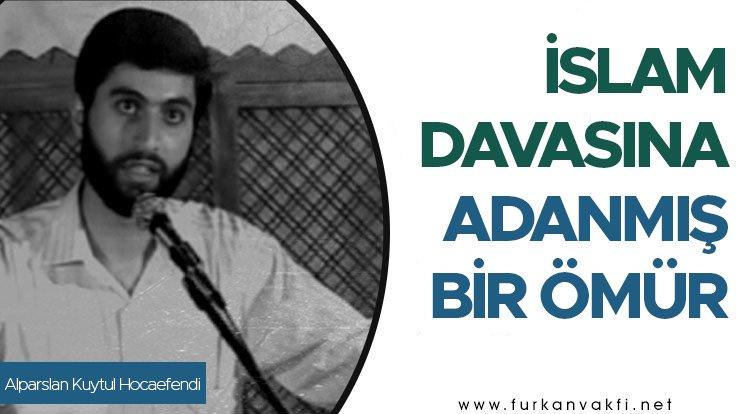 Alparslan Kuytul Hocaefendi... İslam Dav...