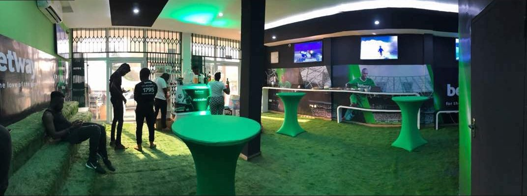 A touch of love 💚 from Betway as we laun...