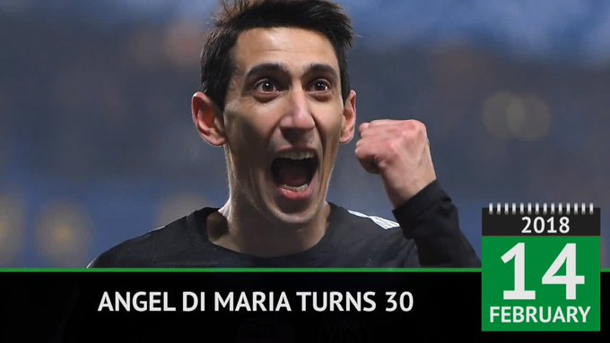 Happy birthday, Angel Di Maria!