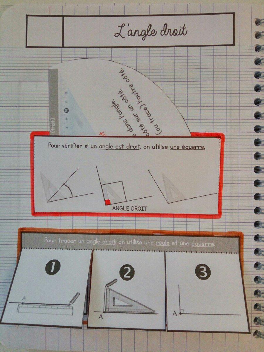 """Cenicienta on Twitter: """"CE1/CE2 • Mathématiques • 3 nouvelles leçons à manipuler (l'angle droit ..."""