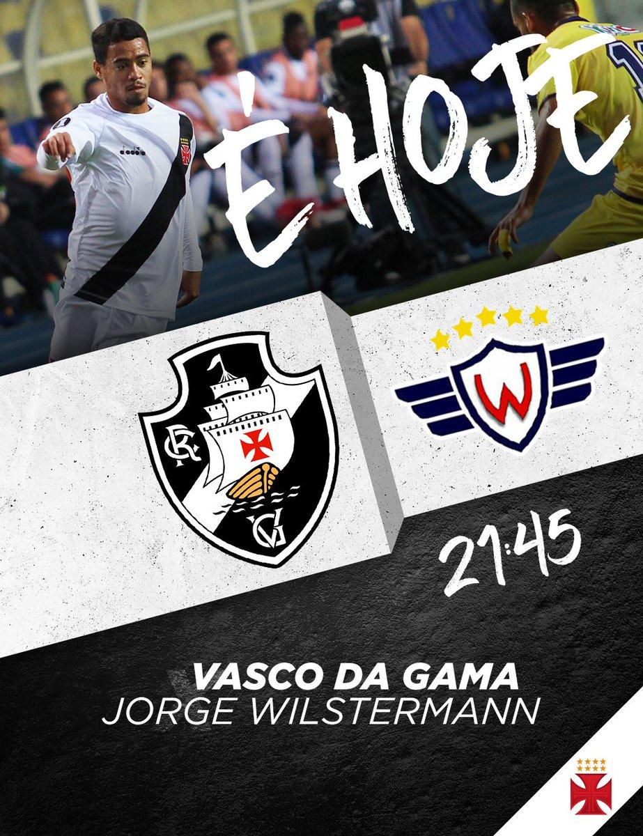 A quarta-feira de Cinzas mais animada dos últimos tempos: hoje é dia de Vascão em campo!  O Gigante vai enfrentar o Jorge Wilstermann às 21:45 em São Januário, pela Conmebol Libertadores 2018.  Vamos com tudo! 💢 #MissãoLiberta2018