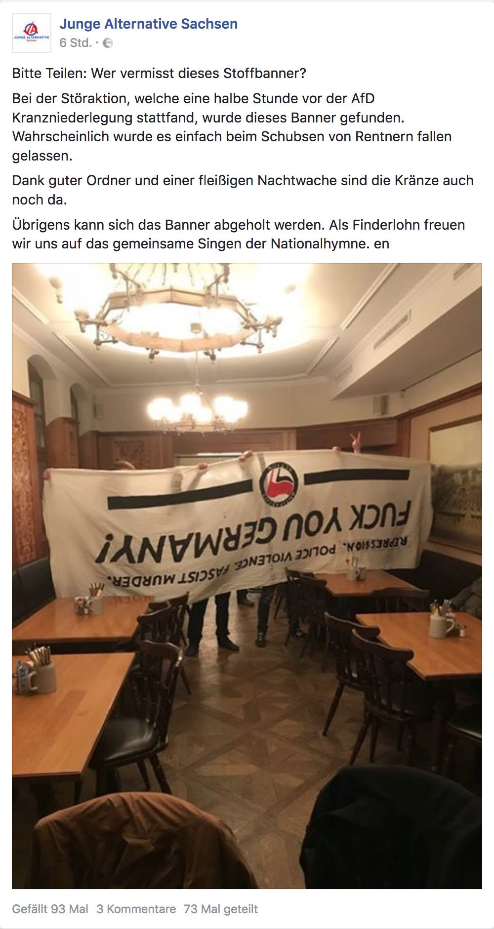 Antifa Recherche Team Dresden on Twitter