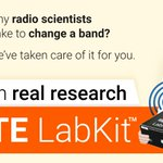 Image for the Tweet beginning: Are you into radio research?#LTE
