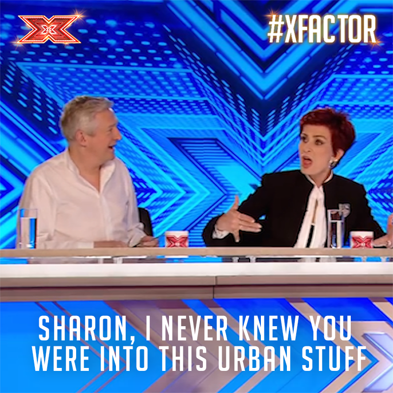 Roses are red,  Our Judges are buff... 🌹😍  #ValentinesDay #XFactor https://t.co/QTw9crrhPe
