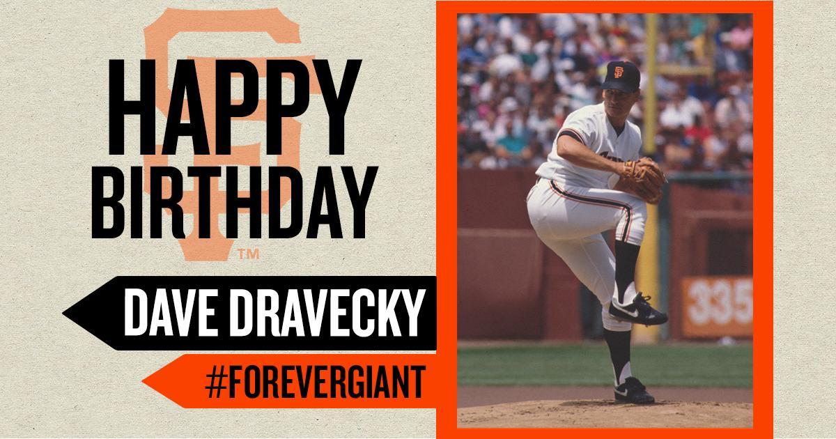 Happy Birthday to Dave Dravecky!
