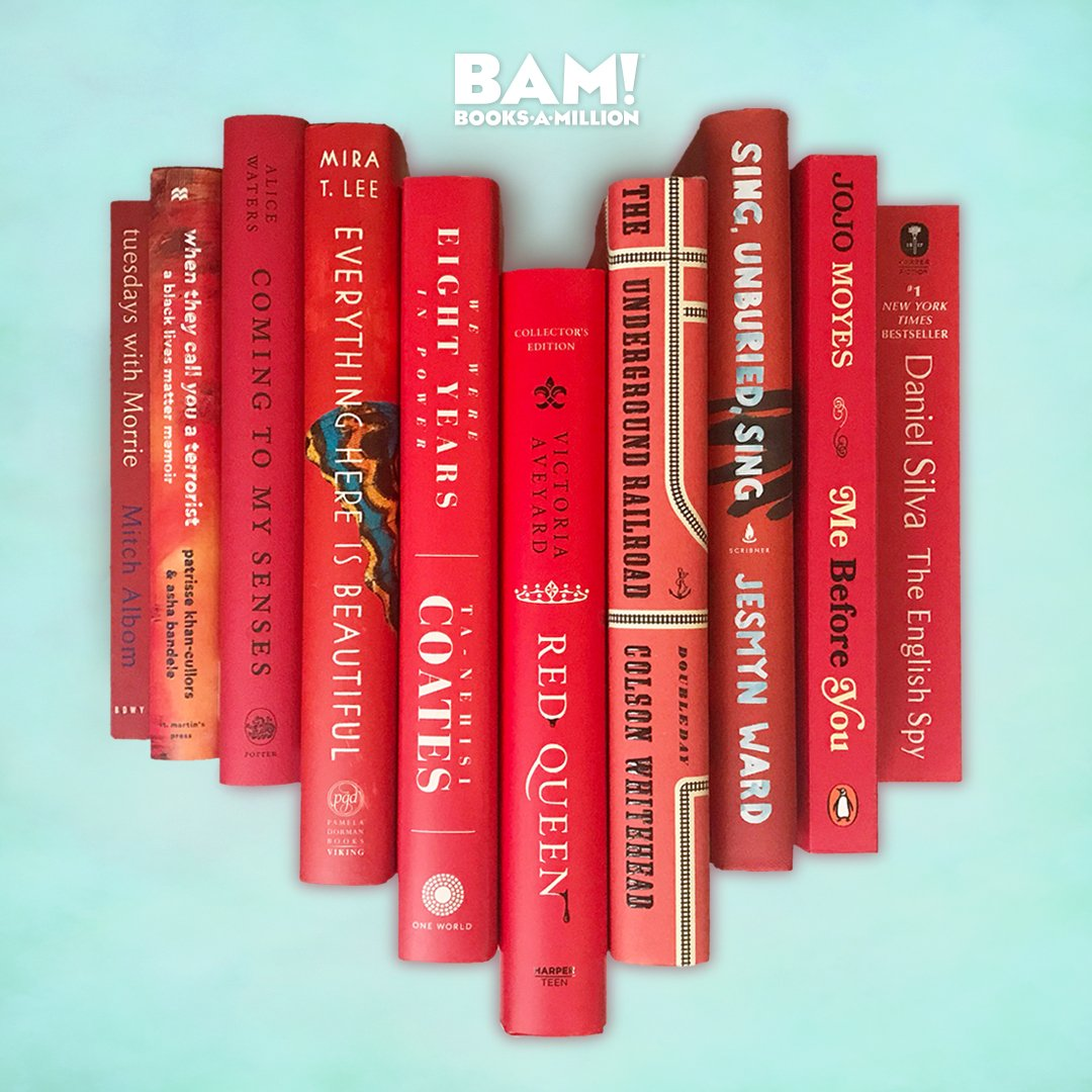 Who needs a #Valentine when you have #books. #BooksAMillion