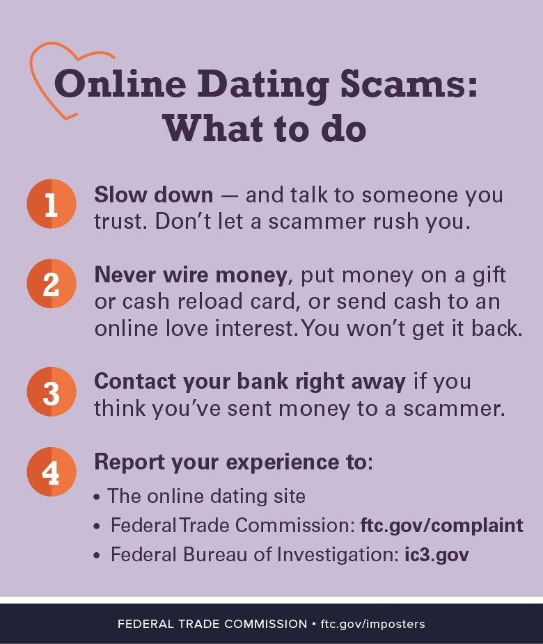avoiding online dating scams