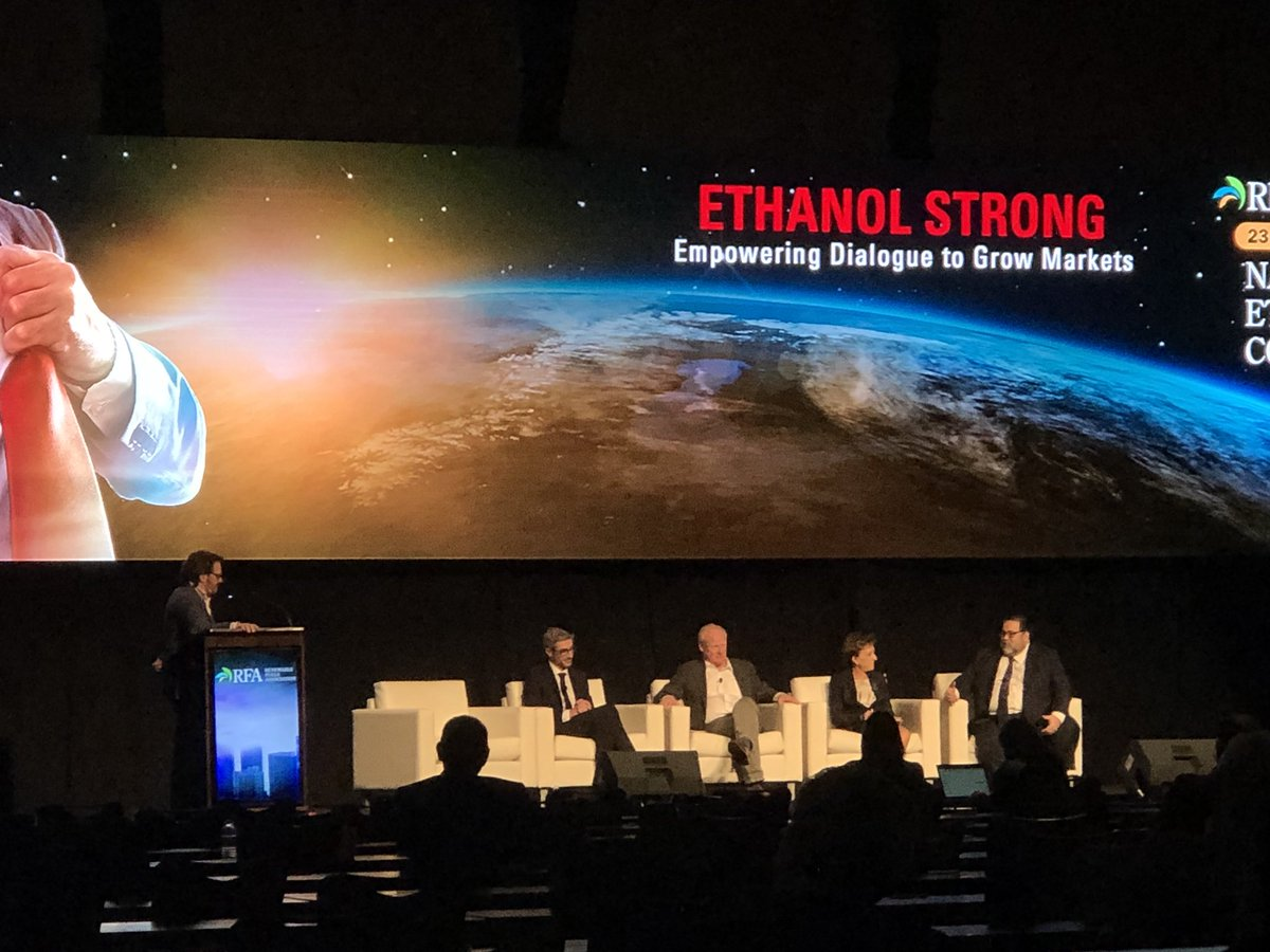 Great discussion on international ethanol markets and how do we expand it. We all need to work together to make sure we have open markets for our products! #RFANEC18 @EthanolRFA @ethanolbob<br>http://pic.twitter.com/MOojJFjUHD