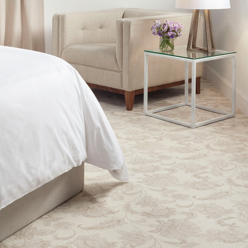 Cozy up this Valentine's Day on our Arietta carpet, complete with a flowing floral pattern that feels highly romantic.   #Staatsburg #StaatsburgNY