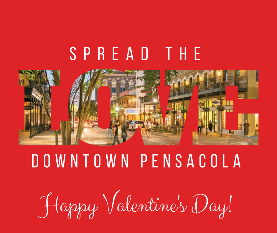 From all of us in #downtownPensacola, Ha...