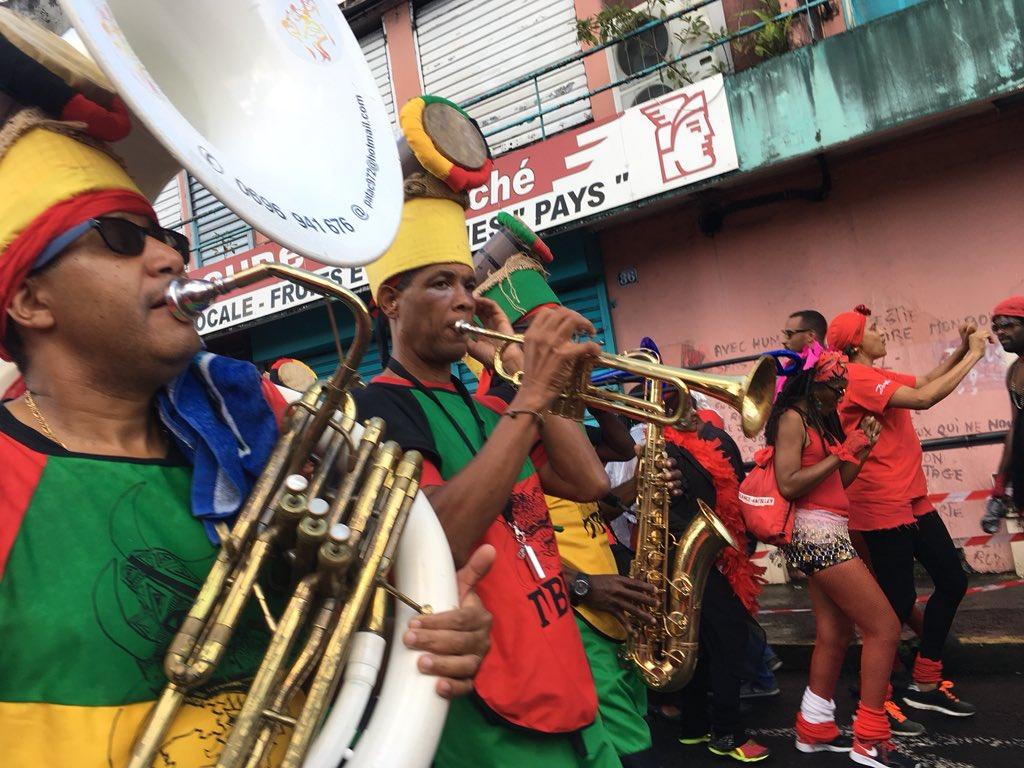 Unforgettable #MardiGras in #Martinique!...