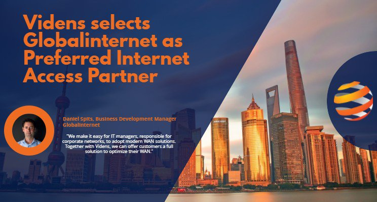 test Twitter Media - We are proud to have been selected as Videns' preferred Internet access partner. Together with Videns, we can offer customers a full solution to optimize their WAN. Read the full announcement:  https://t.co/vCtcCebKHV https://t.co/Ib1kGQtUyv