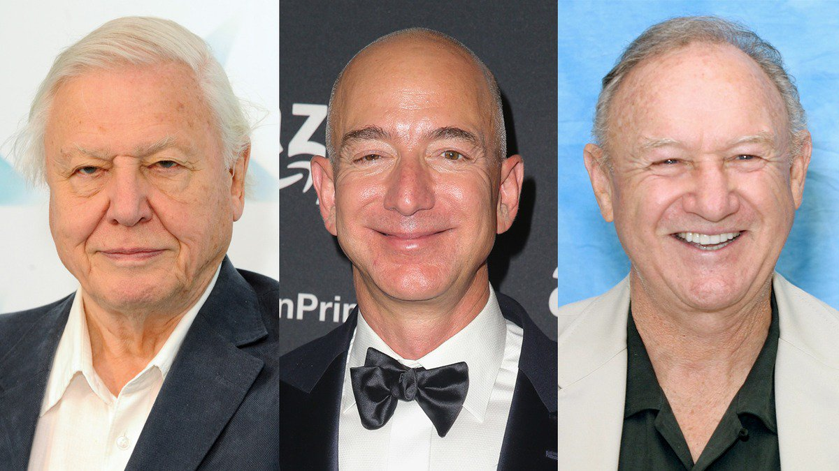 Find Out What David Attenborough, Jeff Bezos, And Gene Hackman Have To Say clckhl.co/uo67PjZ