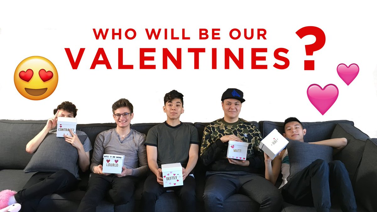 Roses are red 🌹 Violets are blue 💙 We made a #ValentinesDay video 📺 Just for you 💕  📽️: youtu.be/Ye6FF66Otm8