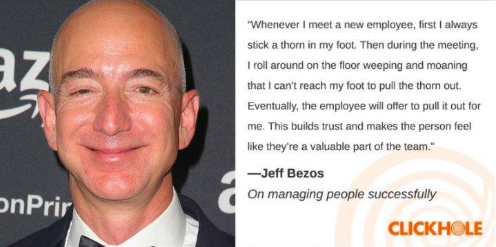 Jeff Bezos said WHAT?! clckhl.co/uo67PjZ