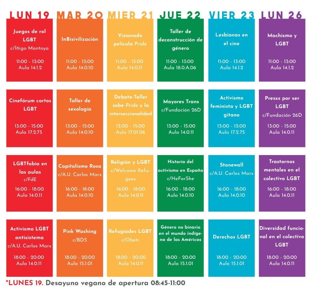 Calendario Uc3m.Uc3m Lgbt On Twitter