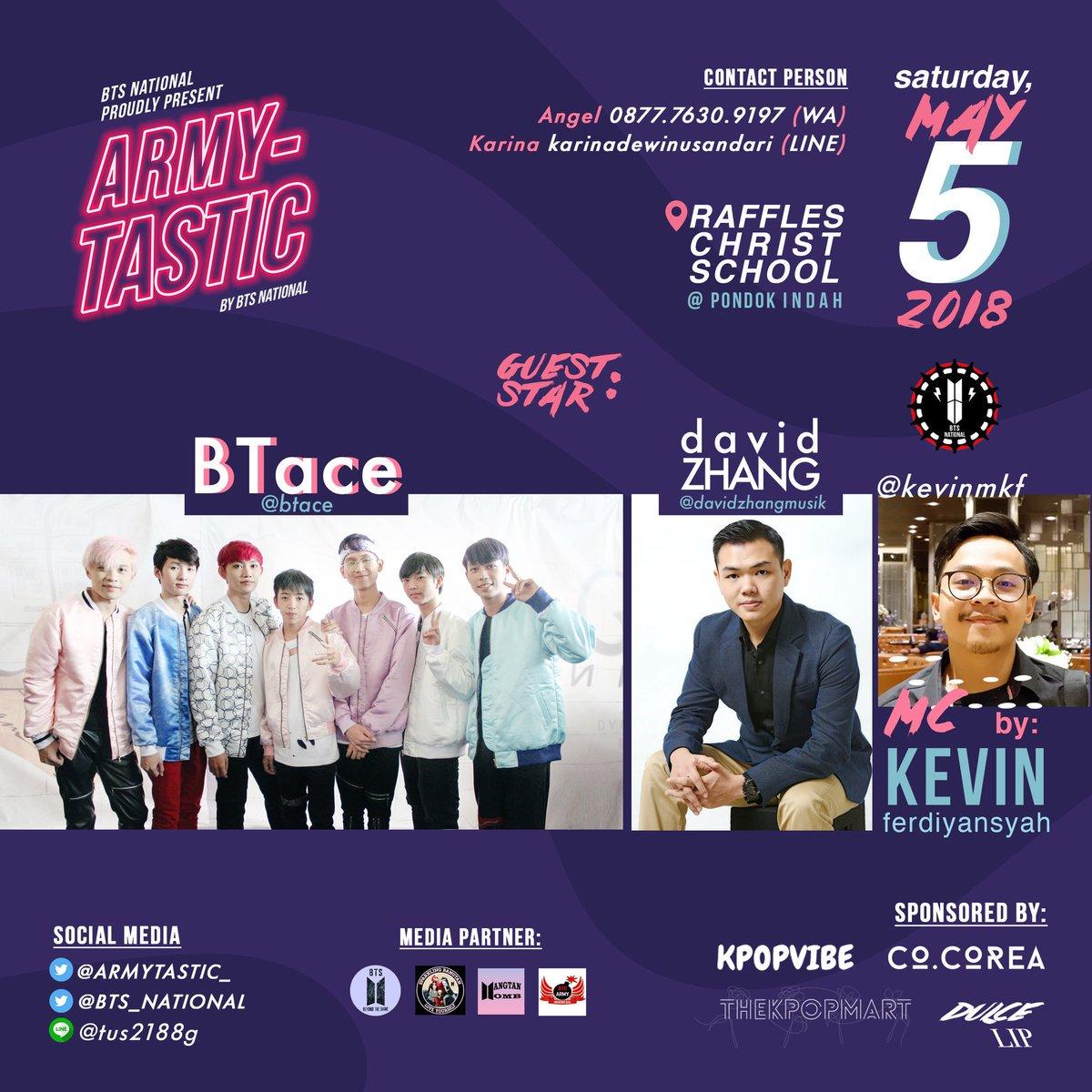 2018 ARMY-TASTIC Party Jakarta Mei 2018 saungkorea.com