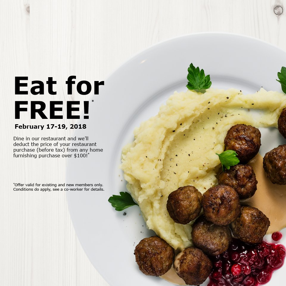 Ikea St Louis On Twitter Eat Shop Save February 17 19 2018