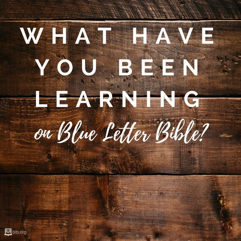 Blue letter bible blueletterbible twitter 1 reply 0 retweets 5 likes malvernweather Choice Image