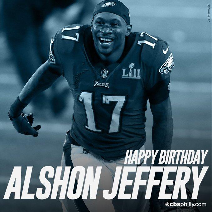 HAPPY BIRTHDAY Alshon Jeffery (