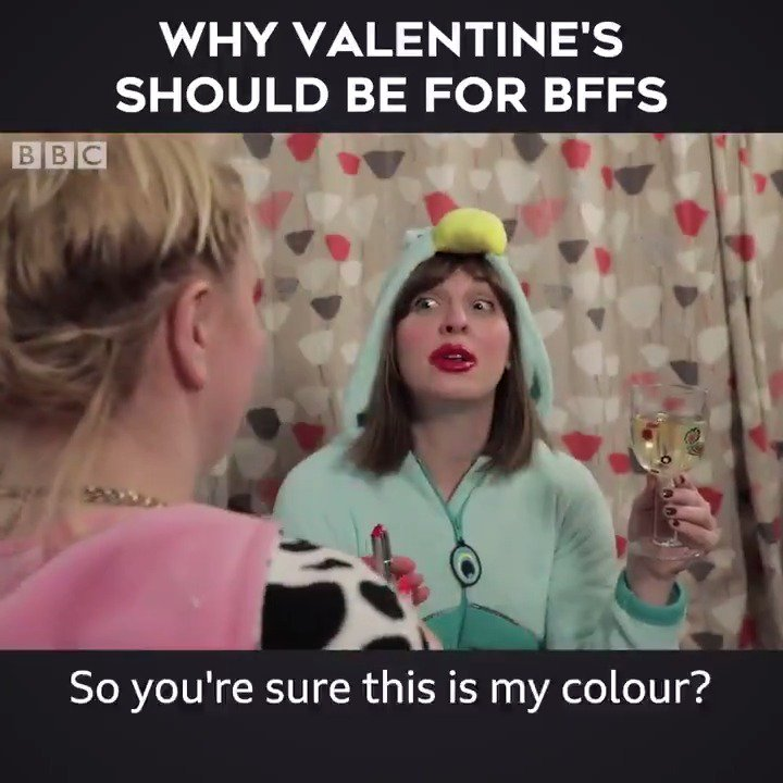 5 Reasons why Valentine's should be for BFFs! 👯👯‍♂️   @bbcwritersroom @r_jacz @KathrynBond https://t.co/ZRoOpJGxiN