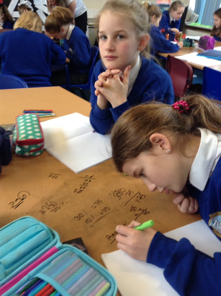 Year 5 calculating percentages and working out reductions on amounts- next stop the sales! #EPS #collaboration