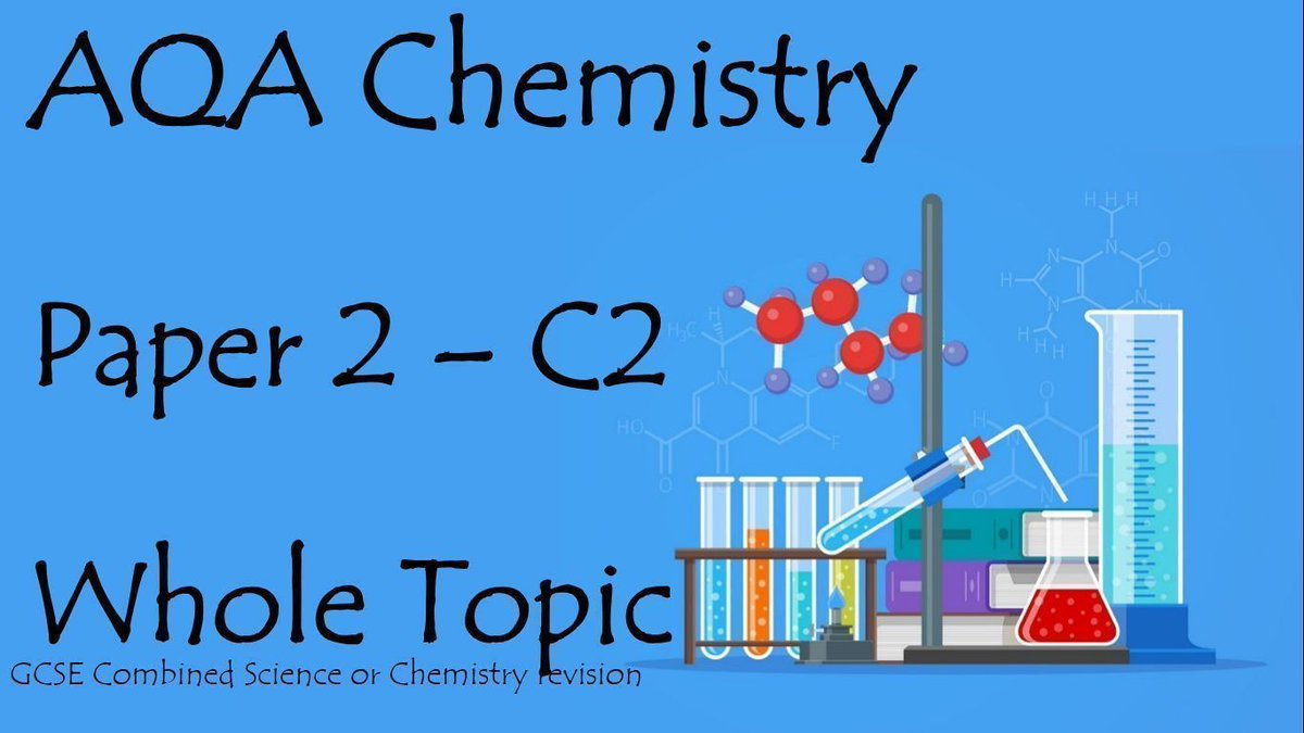 Aqachemistry hashtag on twitter aqachemistry aqa chemistry for the new spec 9 1 gcse combined and separate science urtaz Images