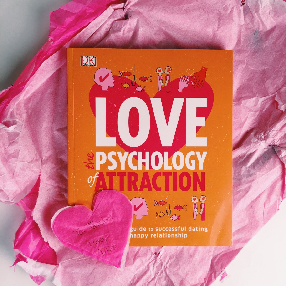 Improve your chances to find love this #ValentinesDay with #Love: The Psychology of Attraction. Thanks for the gift, @dkpublishing! #ReadMyValentine