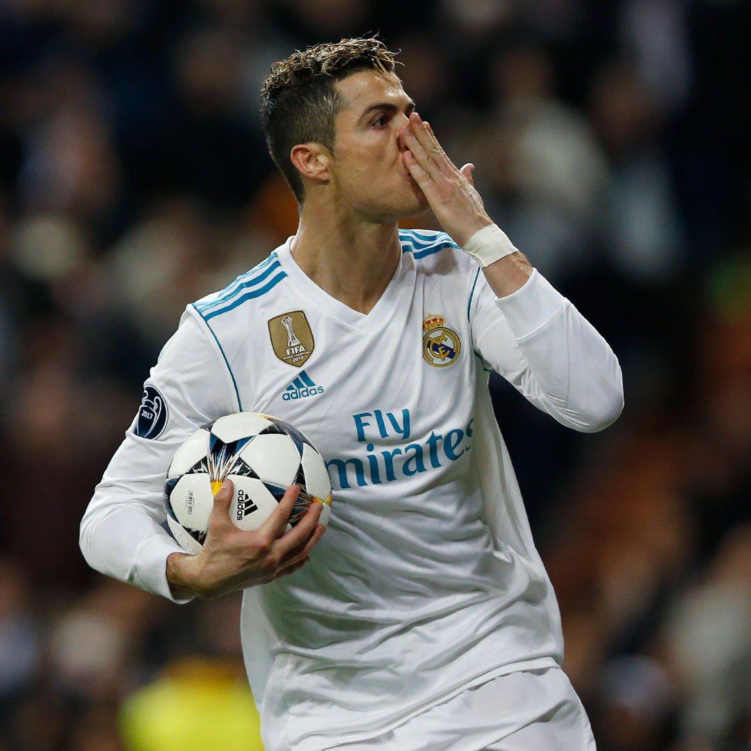 �⚽😘 @Cristiano ¡101 goles en #RMUCL con el Real Madrid y sumando!