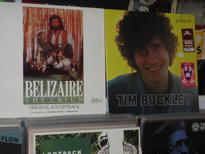 Happy Birthday to Michael Doucet of Beausoleil & the late Tim Buckley