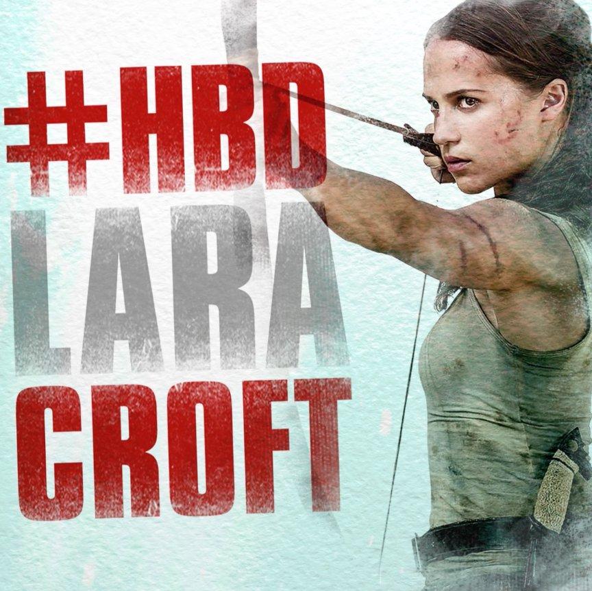 Fans around the world ❤️ Lara Croft! Joi...