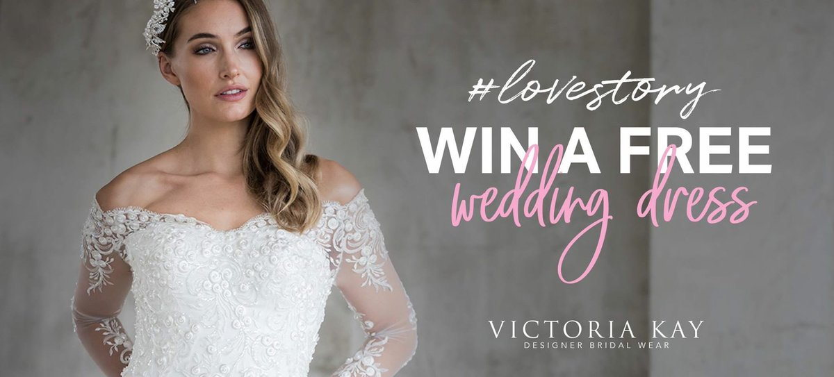 We love a good #lovestory at Victoria Kay, so we came up with a plan to get you to share your romantic stories with us.  Enter here: https://t.co/PGkSZN4aTp   #valentinesday #winaweddingdress #happyvalentines #weddinghour https://t.co/LxXP7cGbi9