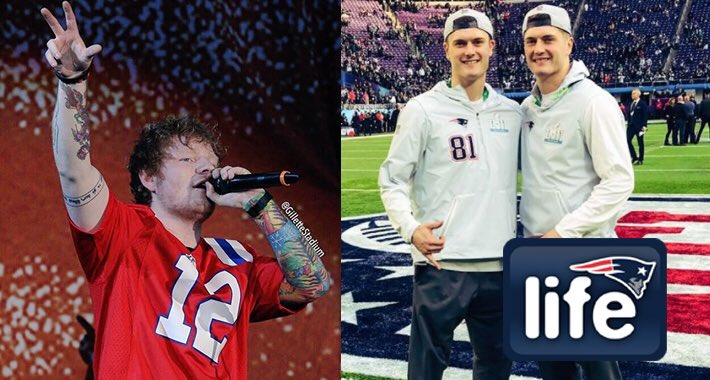 Jacob & Cody Hollister:  ✔️ Brothers ✔️ #Patriots ✔️ #EdSheeran cover band?  More: https://t.co/iVKd4HZOrl
