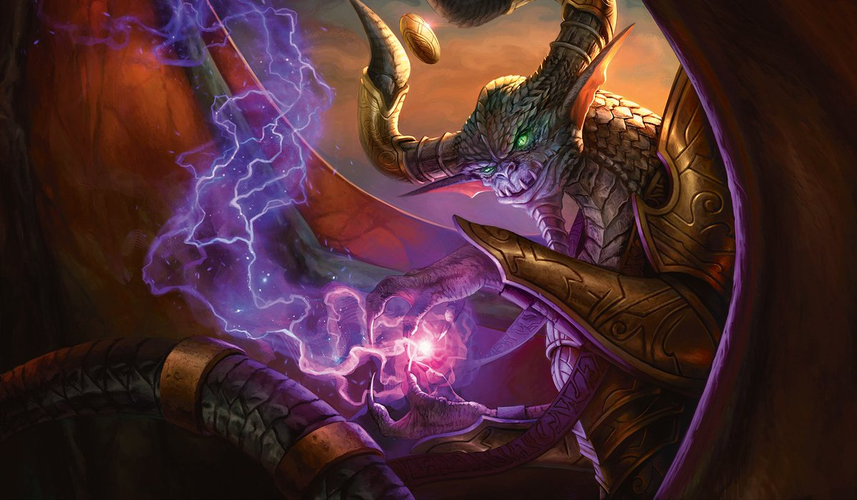 Jeremy Noell On Twitter New Nicol Bolas Artwork Featured
