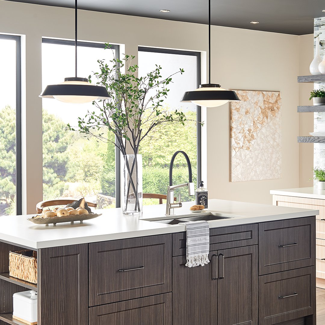 We Make It Easy To Add Personality Your Kitchen With Our Mid Century Modern Interpretation Of The Timeless Schoolhouse Style Pendant